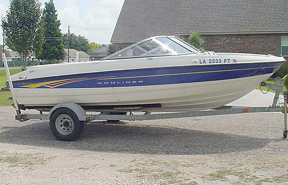 Used  2007 19' Bayliner   Fish and Ski in Gonzales, Louisiana