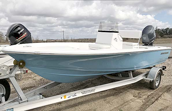 New  2018 18' Sportsman ISLAND W/ 90HP YAMAHA Bay Boat in Houma,, Louisiana
