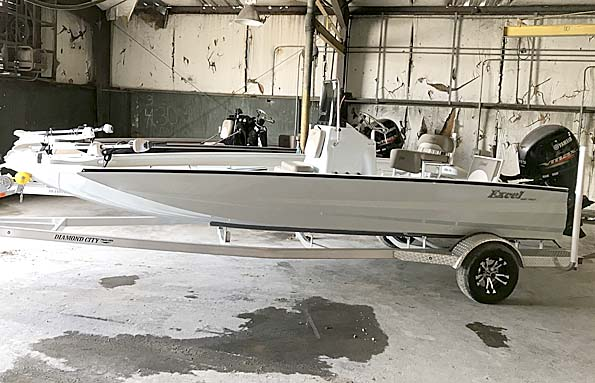 New  2018 20' Excel 203 WITH A 115HP YAMAHA SHO Boat in Houma,, Louisiana