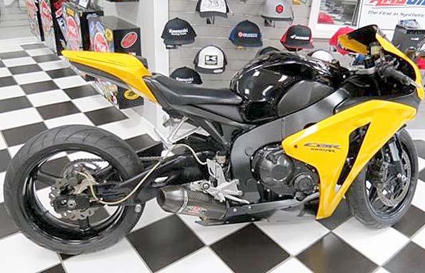 used 2008 honda cbr 1000 rr street bike in gulfport mississippi. Black Bedroom Furniture Sets. Home Design Ideas