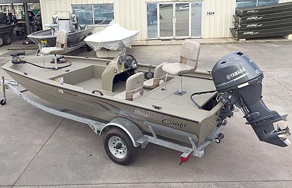 New  2018 17' Alumacraft 175 Sport Fisherman in Pierre Part,, Louisiana