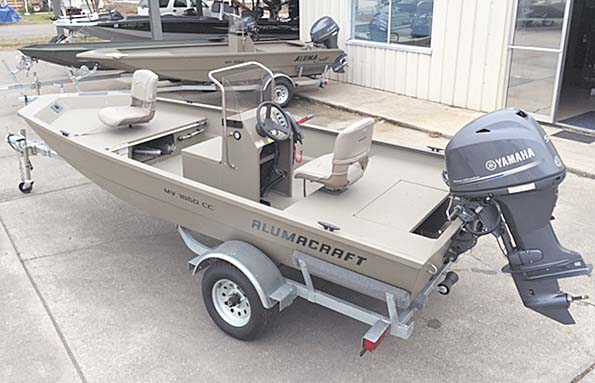 New  2018 16' Alumacraft 1650 CC Sport Fisherman in Pierre Part,, Louisiana