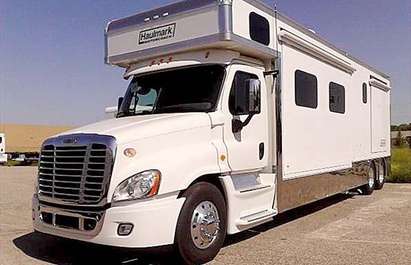 Used 2014 40 39 Haulmark Motor Coach Demo Class A In
