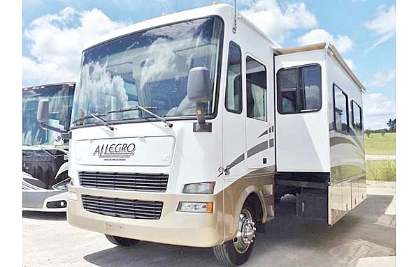 Used  2007 34' Allegro TIFFEN OPEN ROAD 34 TGA Class A in Sherman,, Mississippi