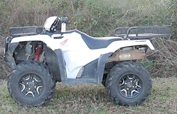Used  2016 Honda 500 RUBICON DELUXE ATV in Roseland, Louisiana