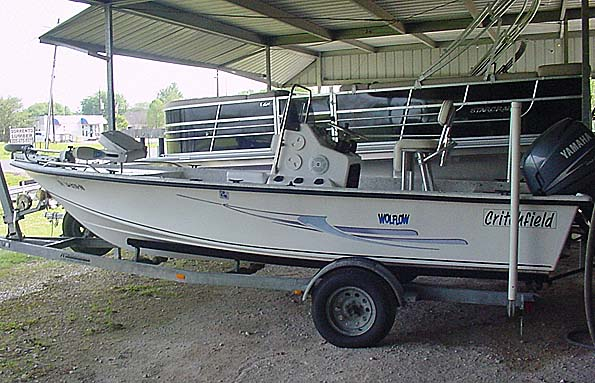 Used  2006 18' Critchfield Marine Inc 18CC Center Console in Gonzales,, Louisiana