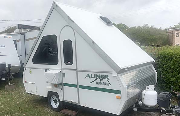 Used  2011 12' A Liner RANGER Pop Up in Biloxi,, Mississippi
