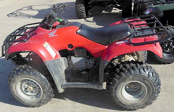 Used 2014 honda recon 250 2x4 atv in brookhaven mississippi for Yamaha brookhaven ms