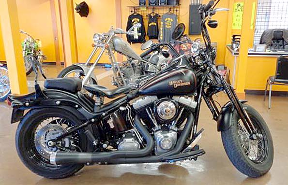 Used  2008 Harley-davidson FLSTB CROSS BONES Street Bike in Covington,, Louisiana