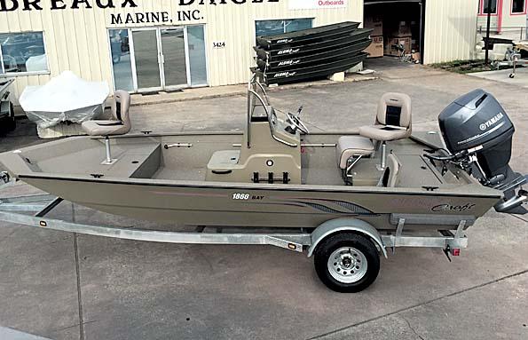 New  2018 18' Alumacraft 1860 CC BAY Sport Fisherman in Pierre Part,, Louisiana