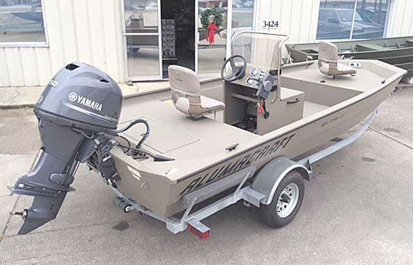 New  2018 16' Alumacraft 1650 SPECIAL CC Sport Fisherman in Pierre Part,, Louisiana