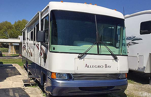 Used  2000 34' Allegro TIFFIN ALLEGRO BAY Class A in New Iberia, Louisiana